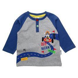 Gelati Chlapecké tričko Racer - šedo-modré