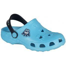 Coqui Chlapecké sandály Little Frog - modré
