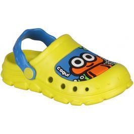 Coqui Chlapecké sandály Stoney - žluté