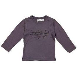 Dirkje Dívčí tričko s kamínky - fialové