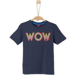 s.Oliver Chlapecké tričko - tmavě modré