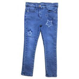 Carodel Dívčí džínové kalhoty s hvězdami - modré