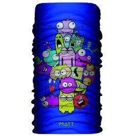 Matt Dětský nákrčník s příšerkami - modré