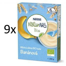 Nestlé BIO Banánová kaše 9x200g
