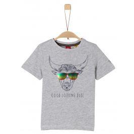 s.Oliver Chlapecké tričko - šedé