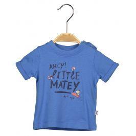 Blue Seven Dětské tričko s potiskem - modré