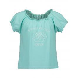 Blue Seven Dívčí tričko s potiskem - modré