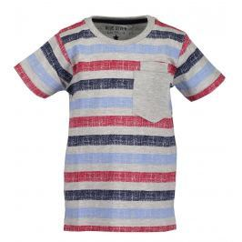 Blue Seven Chlapecké tričko s kapsou - šedé