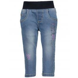 Blue Seven Dívčí džíny s elastickým pasem - modré