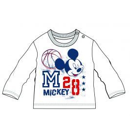Disney by Arnetta Chlapecké tričko Mickey Mouse - bílé