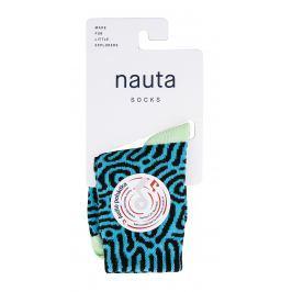 nauta socks Dětské ponožky Brain coral s audio pohádkou - modré