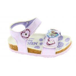 Disney by Arnetta Dívčí sandále Frozen - fialové