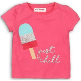 Minoti Dívčí tričko - růžové