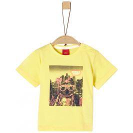 s.Oliver Chlapecké tričko - žluté