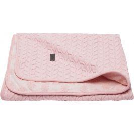 Bebe-jou Dětská deka Samo 75x100 cm - Fabulous blush pink