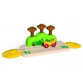Hape Toys Kolejnice opička