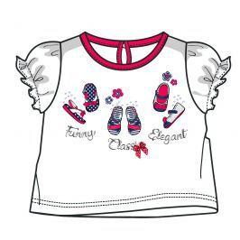 Mix 'n Match Dívčí tričko - bílo-červené