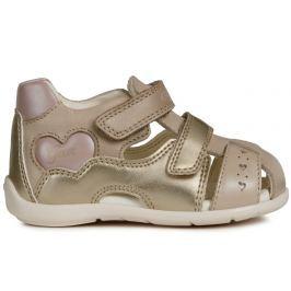 Geox Dívčí sandály Kaytan - zlaté