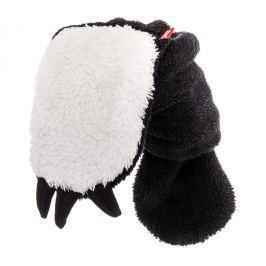 Bexa Dětská šála Panda - bílo-černá