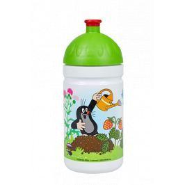 Zdravá lahev Krtek a jahody 0,5l zelená