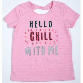 Topo Dívčí tričko - růžové