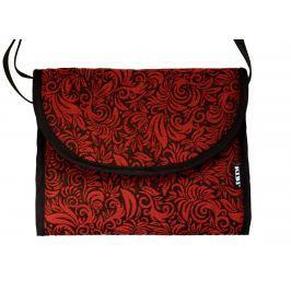 KiBi Taška 3v1 Flora Red velvet