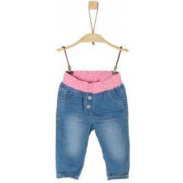s.Oliver Dívčí kalhoty - modré