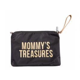 Childhome Mommy Clutch Black Gold