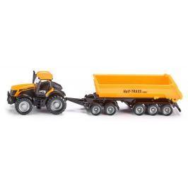 SIKU Farmer - Traktor se sklápěcím přívěsem, 1:87