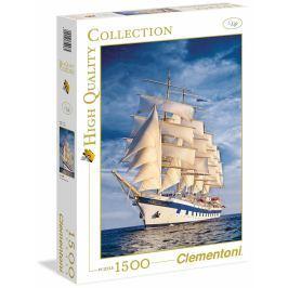 CLEMENTONI Puzzle Plachetnice 1500 dílků