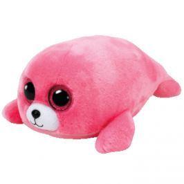 TY Beanie Boos růžový tuleň PIERRE, 24 cm - Medium