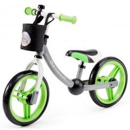 Kinderkraft Odrážedlo 2way s příslušenstvím tmavě šedá/zelená