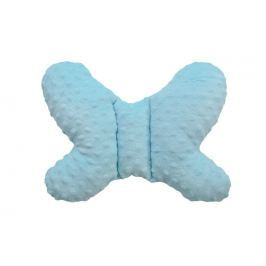Cosing Polštářek MINKY Motýlek, modrý