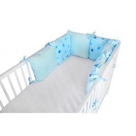 Cosing Polštářkový Mantinel - Hvězdy modrá