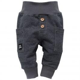 Pinokio Chlapecké kalhoty Funny Dog - šedá