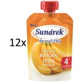 Sunárek Do ručičky banán 12x100g