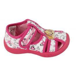 Disney by Arnetta Dívčí sandále Paw Patrol - růžové