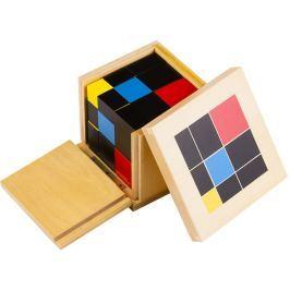 Montessori pomůcky Trinomická krychle