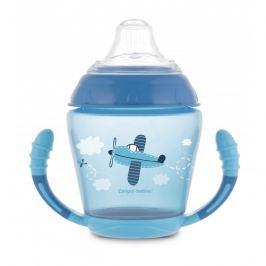 Canpol babies nevylévací hrníček se silikonovým pítkem 230 ml Toys modrý
