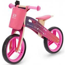 Kinderkraft Odrážedlo Runner růžové s doplňky