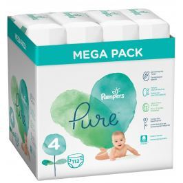 Pampers Pure Protection S4, 112 ks, 9-14 kg