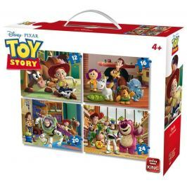 KING Jigsaw 4 Puzzles - Toy Story