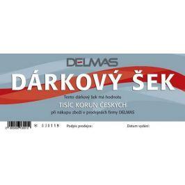 Dárkový šek DELMAS - 1000Kč