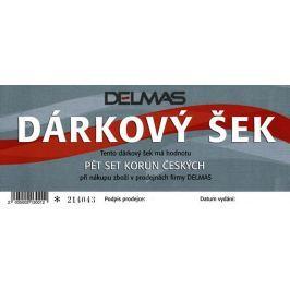 Dárkový šek DELMAS - 500 Kč