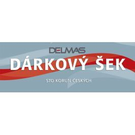 Dárkový šek DELMAS 100 Kč