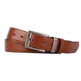 Penny Belts Pánský kožený opasek 30/020/1, hnědý - 100