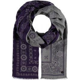 Fraas Dámský obdélníkový šátek 623212 - fialová