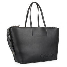 Calvin Klein Dámská shopper kabelka přes rameno Attached K60K605654 - černá