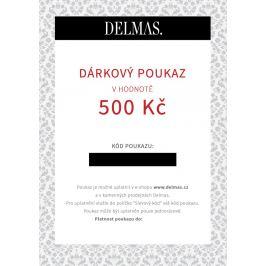 Delmas dárkový poukaz 500 Kč