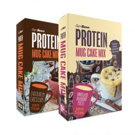 GymBeam Protein Mug Cake Mix 500 g - vanilla blueberry pieces